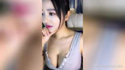 Chinese Girl Masturbation the Pussy is Filled with Mucus
