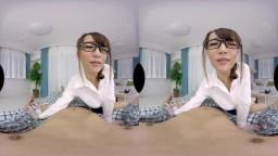 MAXVR-005 【VR】高画質 倉多まお 訪問診療の女医さんが触診してたら興奮し出して一発やらせてくれた!
