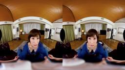 SIVR-027 【VR】美乳がポロリVR 奥田咲 C