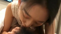 Asian girl fucked without condom !
