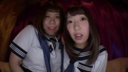 SLAP-041 女子校生達がパンティーをオ○ンコにグイグイ食い込ませて見せつけてくるんです。4
