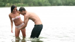 Beach Sex by the Lake with Evelin Dellai