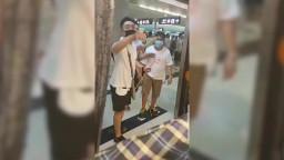 Armed mob attack citizen at Yuen Long MTR station, Hong Kong.