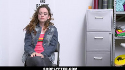 ShopLyfter - Cute Brunette Teen gets Creampied by Hot Security Officer