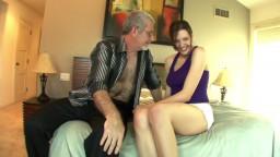 Sadie Holmes Loves an old Man