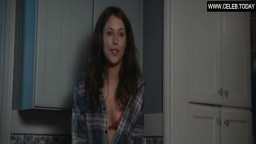Amanda Crew - Small Boobs, Topless & Lingerie - Crazy Kind of Love (2013)