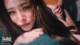 台湾SWAG Vivibabe 小模露臉露點內射視頻外流