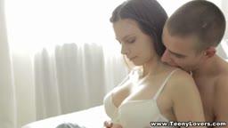 Teens enjoy hot sensual anal