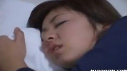 Sleeping Asian Babe Gets Nailed Hard