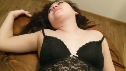 Step sister caught masterbating and gets creampied