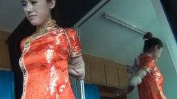 Chinese girl in qipao