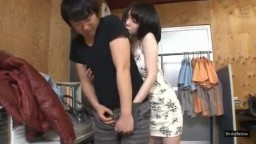 Hot Asian Girl Gets Fucked at the Store.