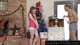 His Gift Is Riley Reid & Hot Threesome