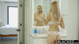 Blonde Girlfriend Alexa Grace Cheats with BBC