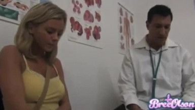 BreeOlson - Pussy Doctor Exam