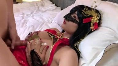 【日本私拍】{Cosplay}仙女正妹扮演性感女郎~含情吹屌很試誘惑 高清原版